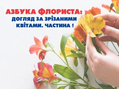 Азбука флориста: уход за срезанными цветами. Часть I