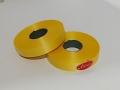 Лента 2,0 см цветная 100м - 09 Желтая