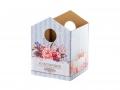 Коробка Домик - 02 голубой