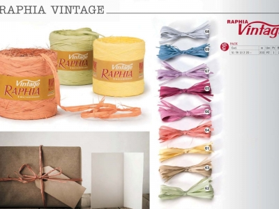 Рафия Bolis Vintage