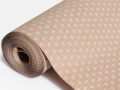 Бумага рифленая коричневая - 01
