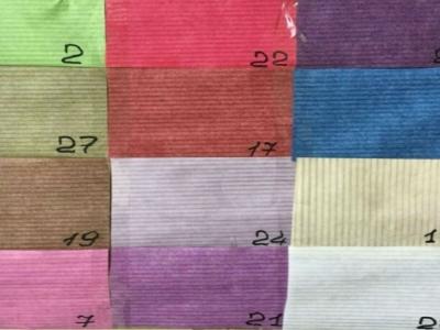 Бумага рифленая цветная