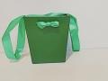 Коробка Половинка картон - 01 Зеленая
