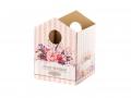 Коробка Домик - 01 розовый