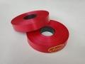 Лента 2,0 см цветная 100м - 02 Красная