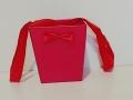 Коробка Половинка картон - 02 Красная